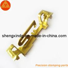 Stamping Precision Brass Copper Electric Terminal Parts (SX050)